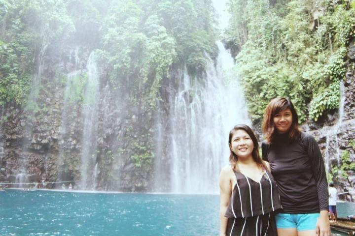 Tinago Falls in Linamon, Lanao del Norte