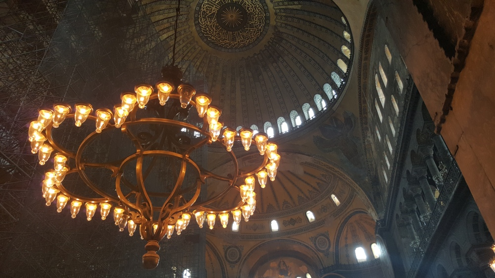 Before it become the Hagia Sophia, this was a Greek Orthodox Cathedral and the seat of the Patriarch of Constantinople