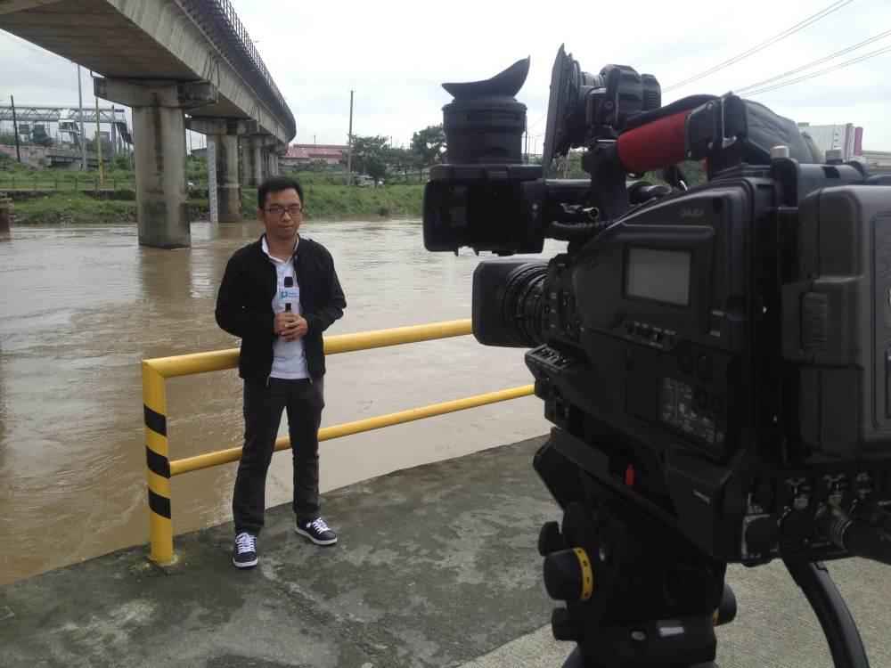 Marikina river.