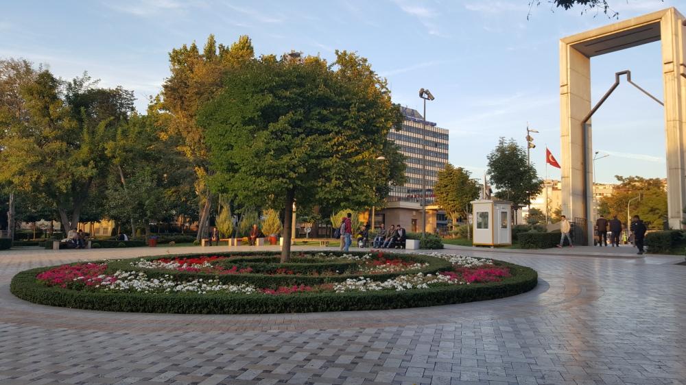 Ulus Park in Ankara