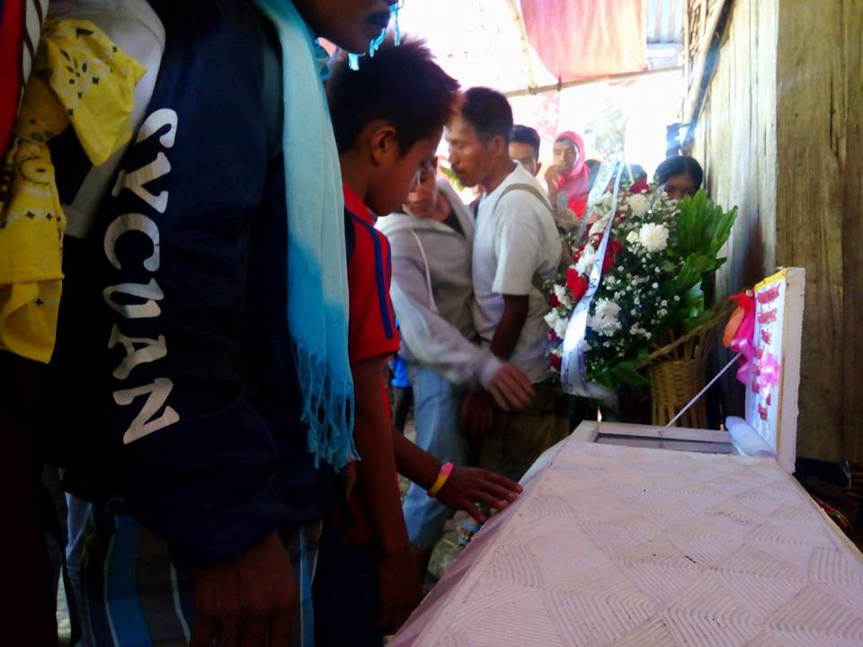 Darwin's casket. Photo by Bong Artel/Kilab Multimedia