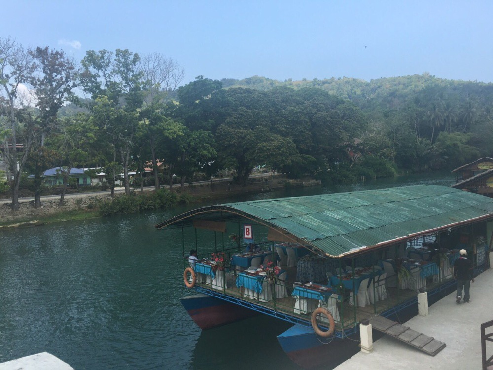 Loboc Floating Restaurant.