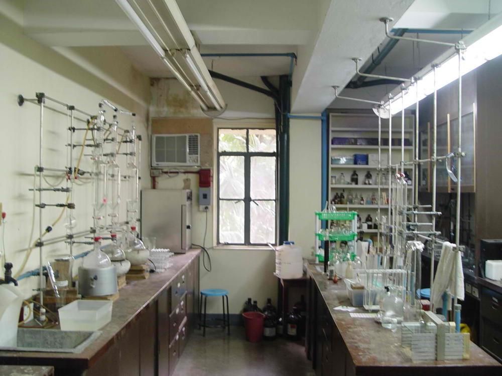 An ideal organic laboratory.