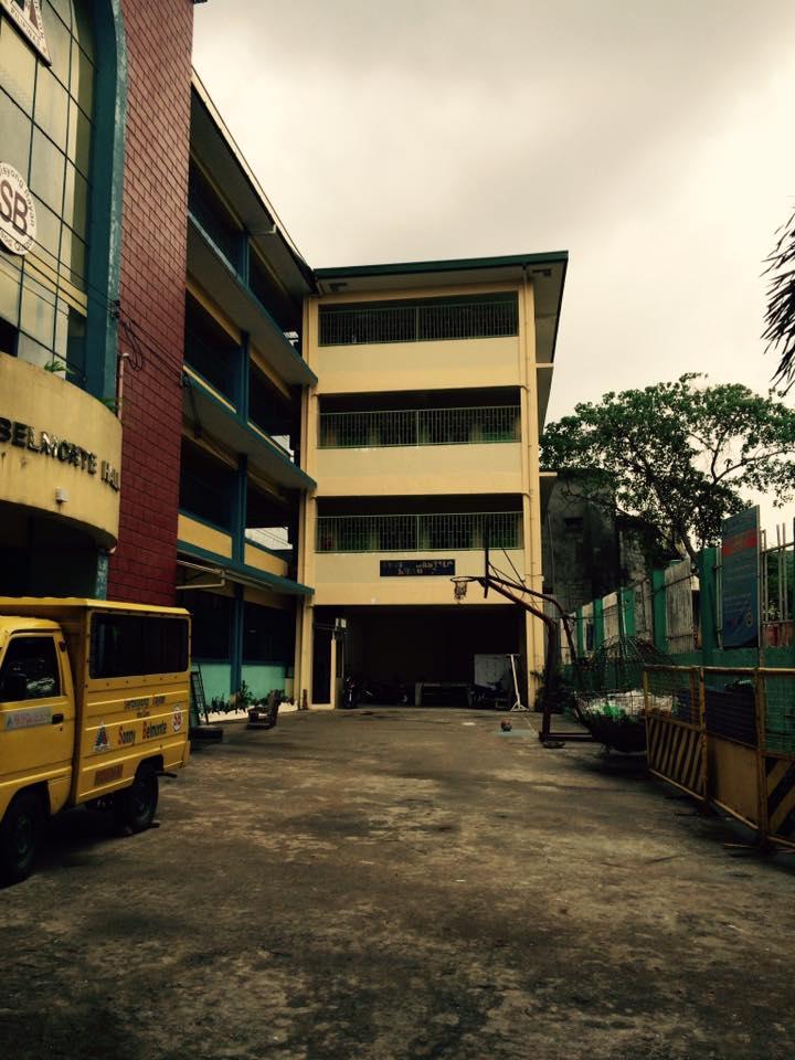 Open spaces in a Quezon City public school.