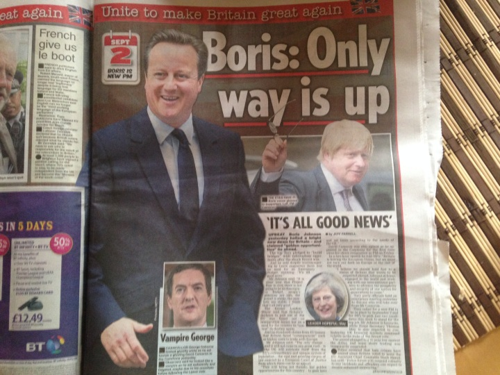 British tabloids do not hold back for parroting their leave agenda.