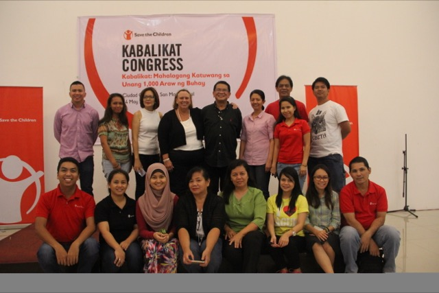 Last May 2016, sharing updates and achievements during the largest gathering of community volunteers for Maternal, Newborn, and Child Health and Nutrition (MNCHN) project areas in Caloocan City.