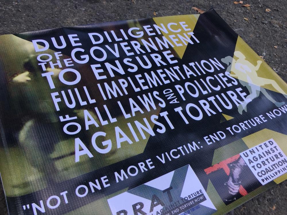 Panawagan mula sa Commission on Human Rights.