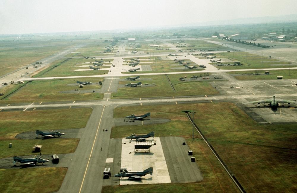 Clark Air Base, 1989.