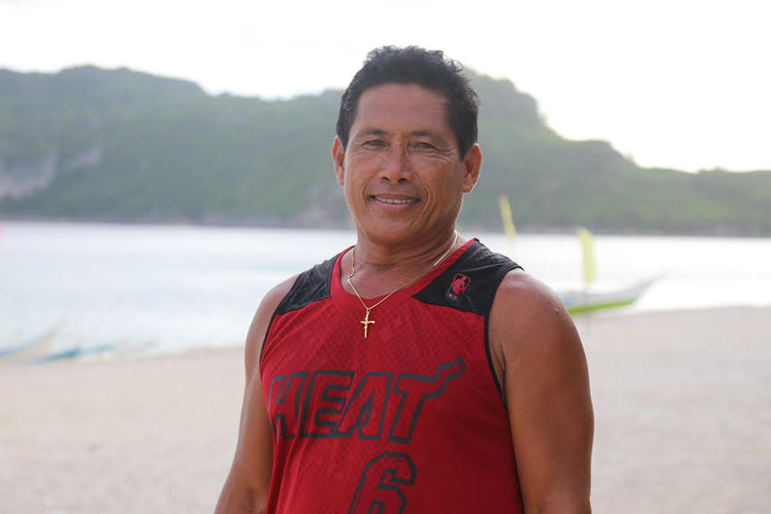 Two years later, Mang Danilo is back on his feet. He has rebuilt his house and the island resort he takes care of is now back to business. (Photo by Denvie Balidoy)