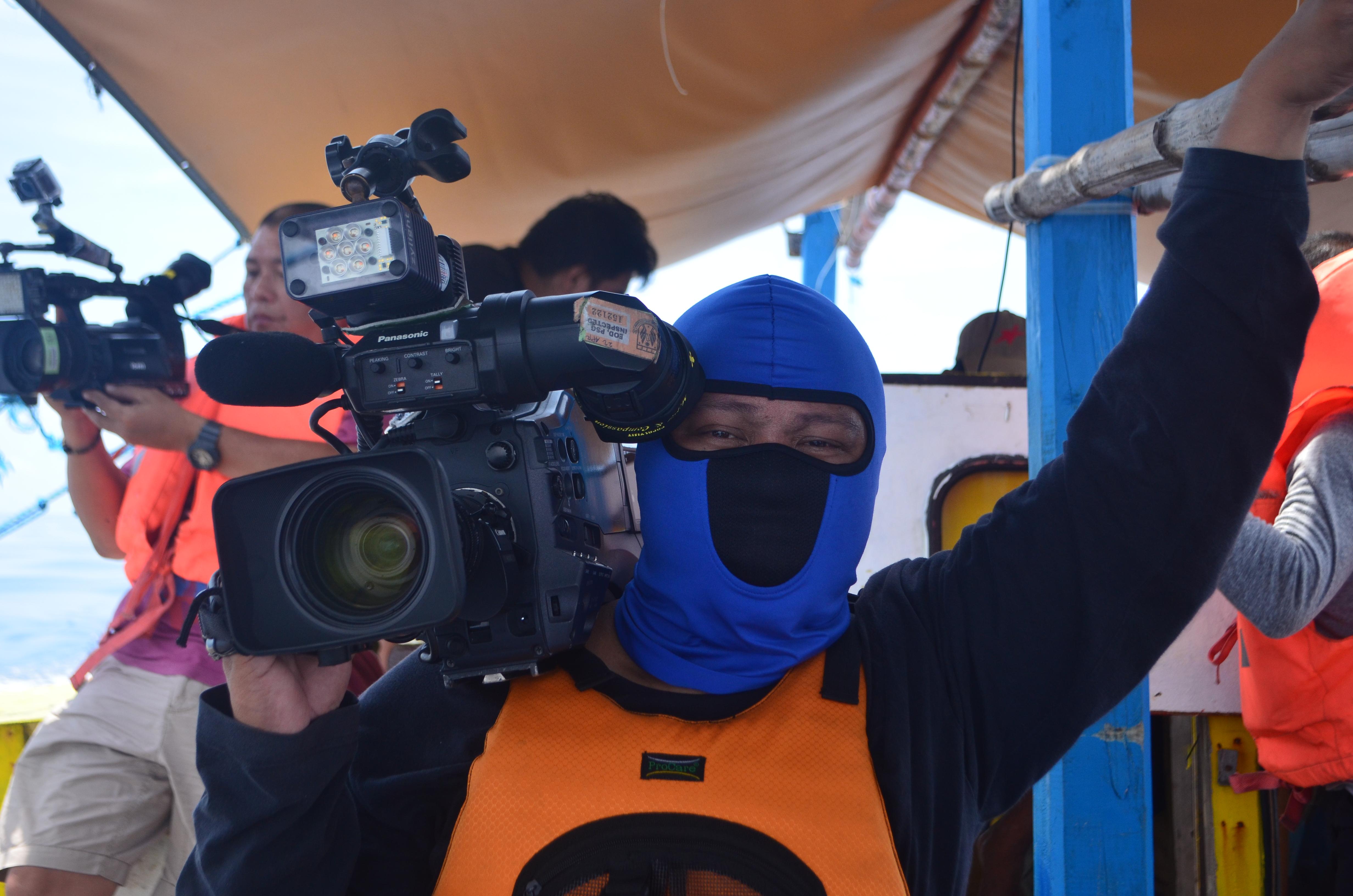 Our video journalist, Marlon Lontoc.