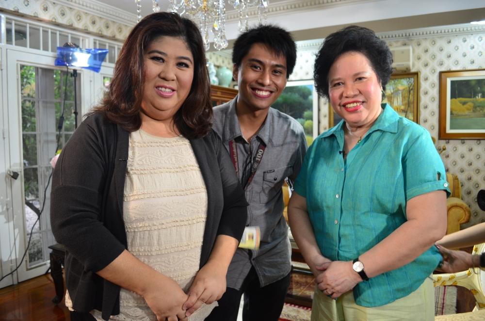 June 6, 2012. I returned with Jessica Soho for a taped one-on-one interview for State of the Nation.
