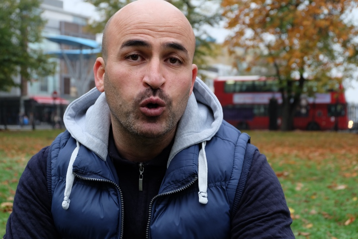 Mohammad Alzen was one of the thousand Syrian refugees who were offered resettlement in the UK. Photo by: Aghnia Adzkia