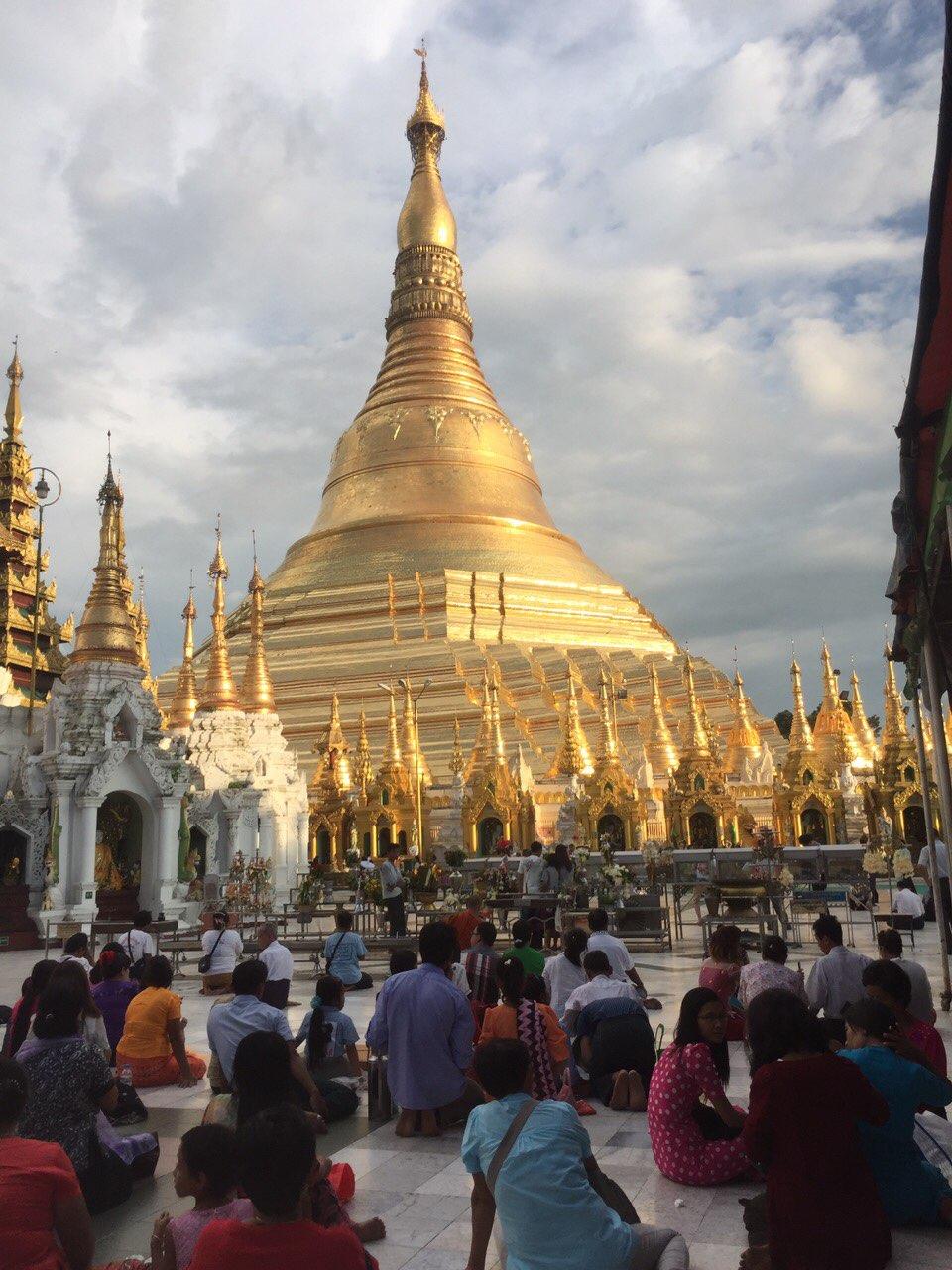 The Shewadagon Pagoda