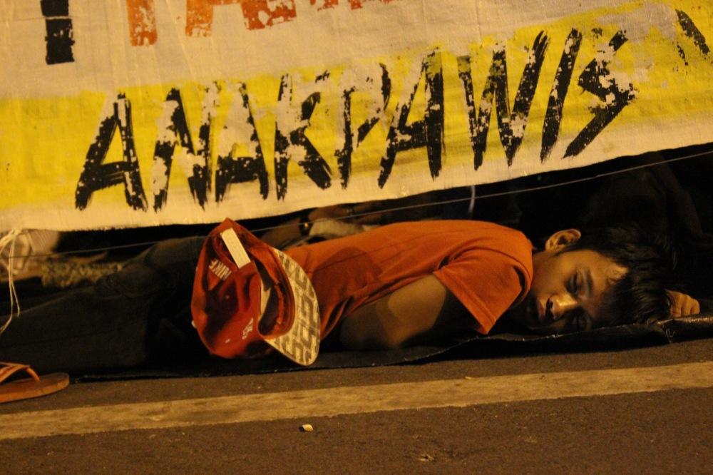 Street protest.