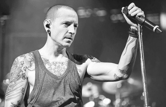 chester-bennington-bw