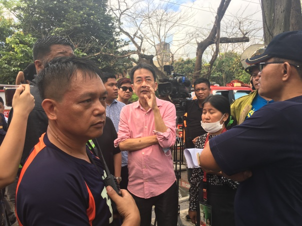 UP Diliman Chancellor Michael Tan.