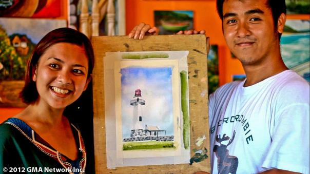 My first painting, all the way from Batanes