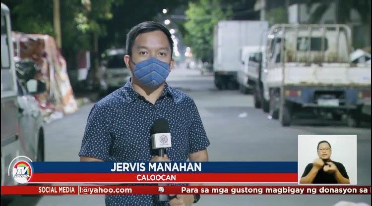 TV reporter standupper screenshot