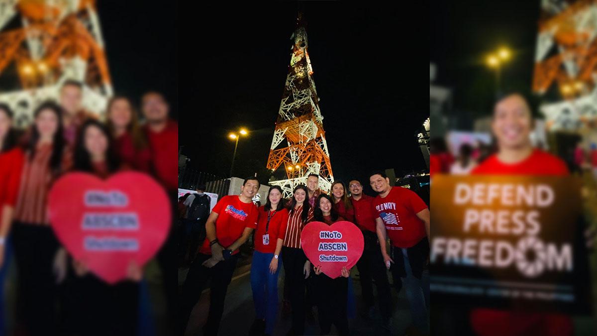 ABS-CBN shutdown rally