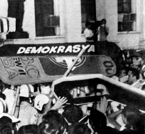 Marcos SONA 1970 Protest