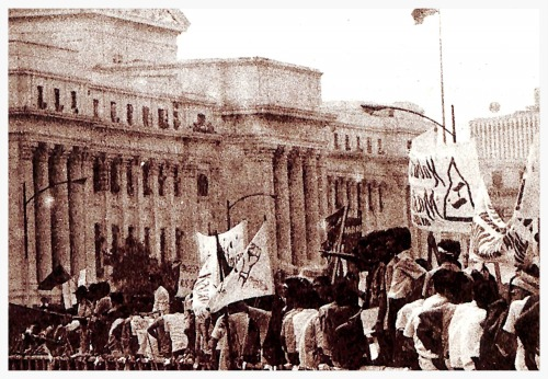 Marcos SONA Protest 1970