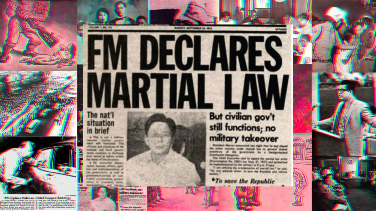 Martial Law Announcement