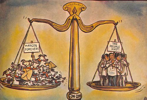 Editorial Cartoon 1972