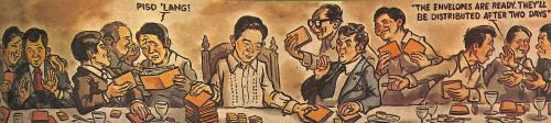 Quintero Exposé Editorial Cartoon