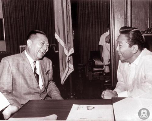Fernando Lopez & Ferdinand Marcos