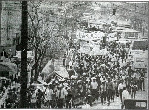 Lakasdiwa Protest 1971