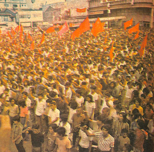 Anti-Martial Law Rally 1972