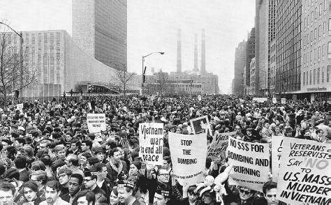1967 Vietnam War Protest in New York