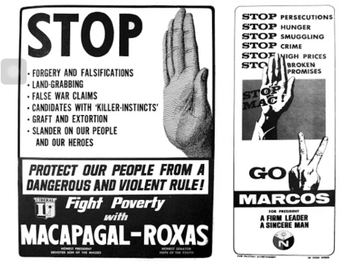 1965 Elections Campaign Posters