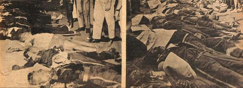 Dead Members of Lapiang Malaya during Black Sunday coup attempt