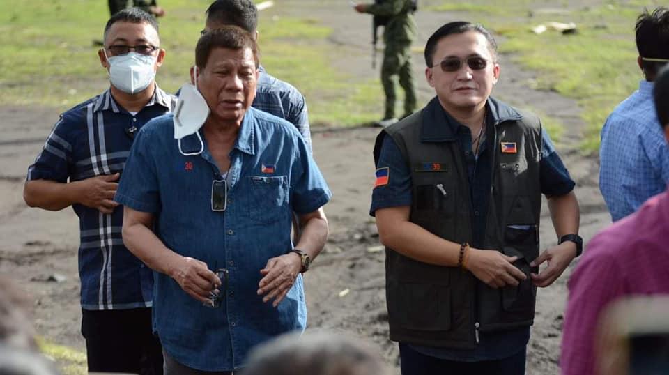 Duterte with Bong Go